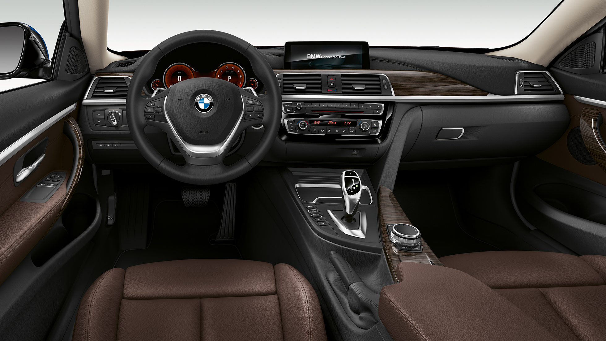 BMW 4 Series Coupé, Model Luxury Line cockpit