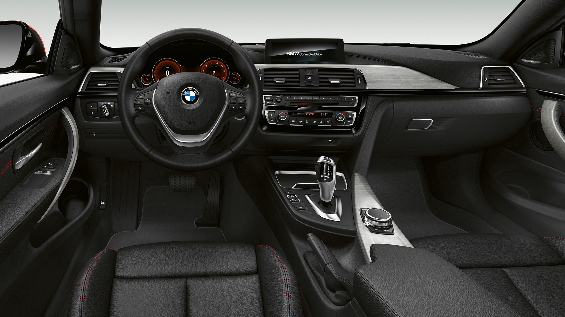 BMW 4 Series Coupé, Model Sport Line cockpit